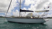 Dufour 4800 : Mouillage au Marin